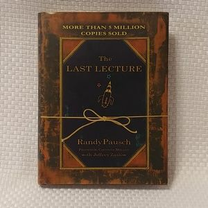 📖The Last Lecture by Randy Pausch